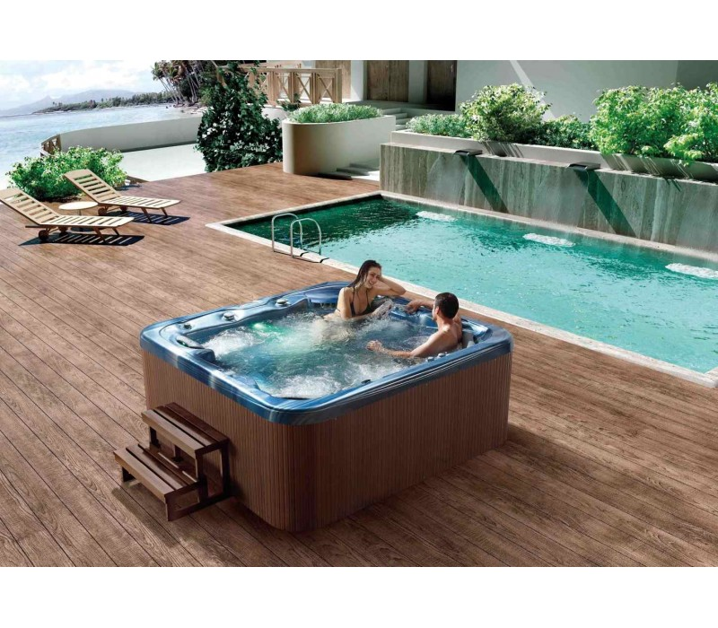 Spa jacuzzi hidromasaje de exterior at 011 for Vendo jacuzzi