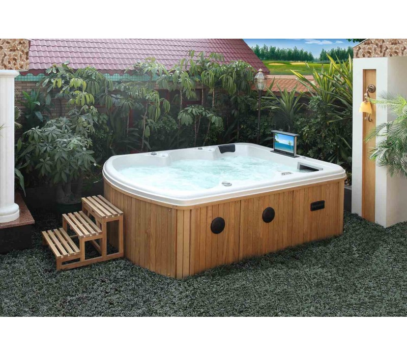 Spa jacuzzi hidromasaje de exterior as 020 for Jacuzzi para exterior baratos