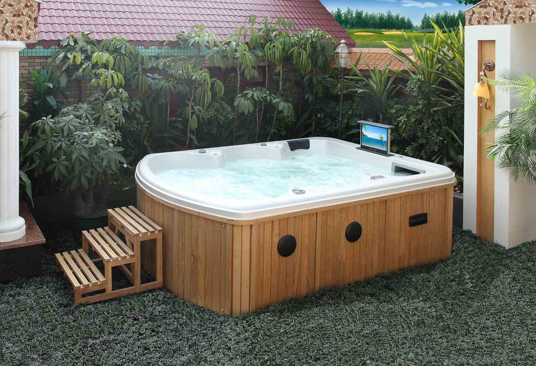 precios jacuzzi exterior excellent madera roble incluido