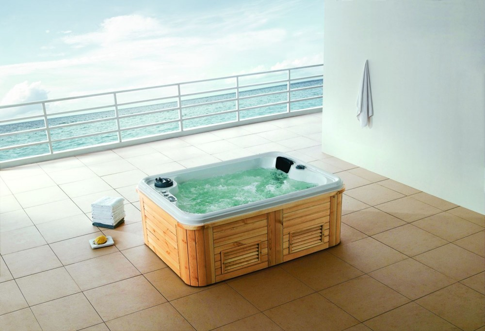 Spa jacuzzi hidromasaje de exterior as 002 for Jets para jacuzzi