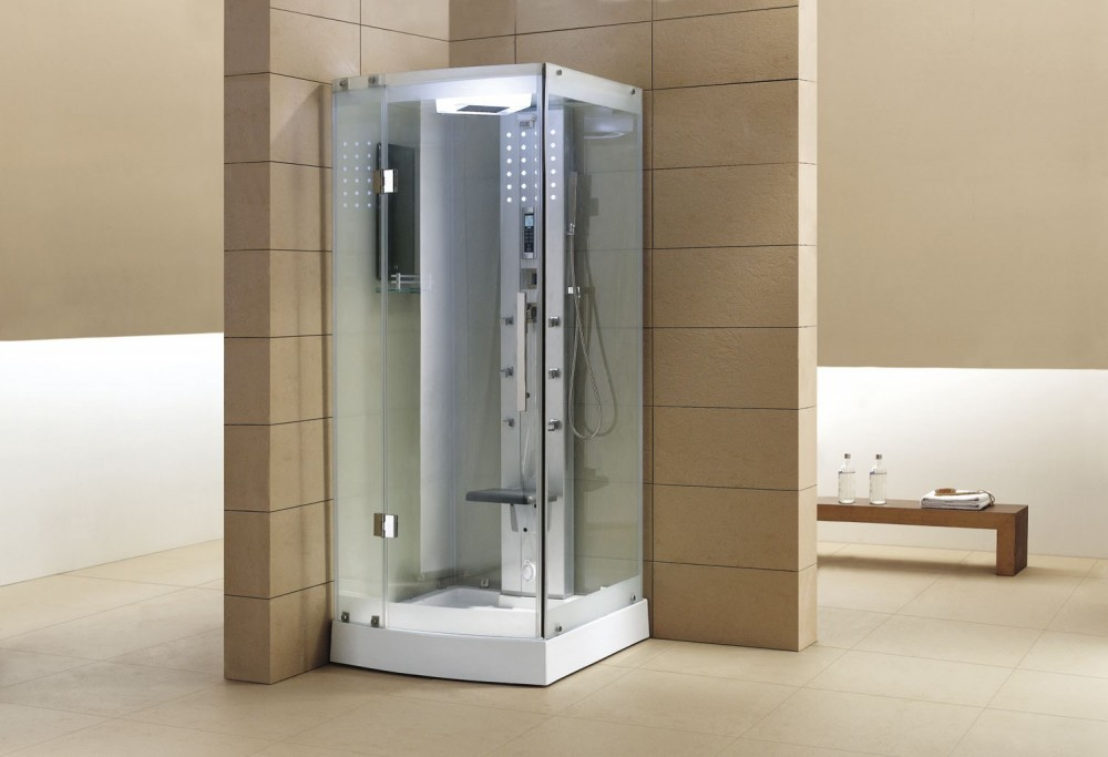 Cabina hidromasaje con sauna as 002a 1 for Cabina sauna