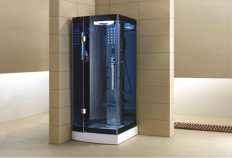 Cabina hidromasaje con sauna as 002b 1 for Cabinas de ducha economicas
