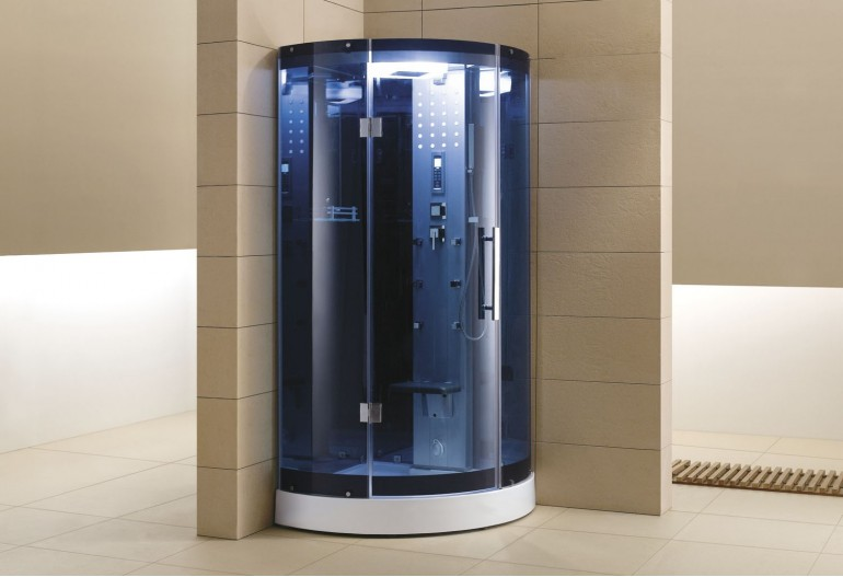 Cabina de hidromasaje sauna as 003b 1 - Cabina ducha sauna ...