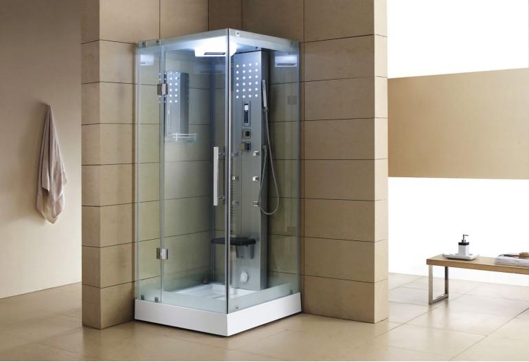 Cabina hidromasaje con sauna AS-004A
