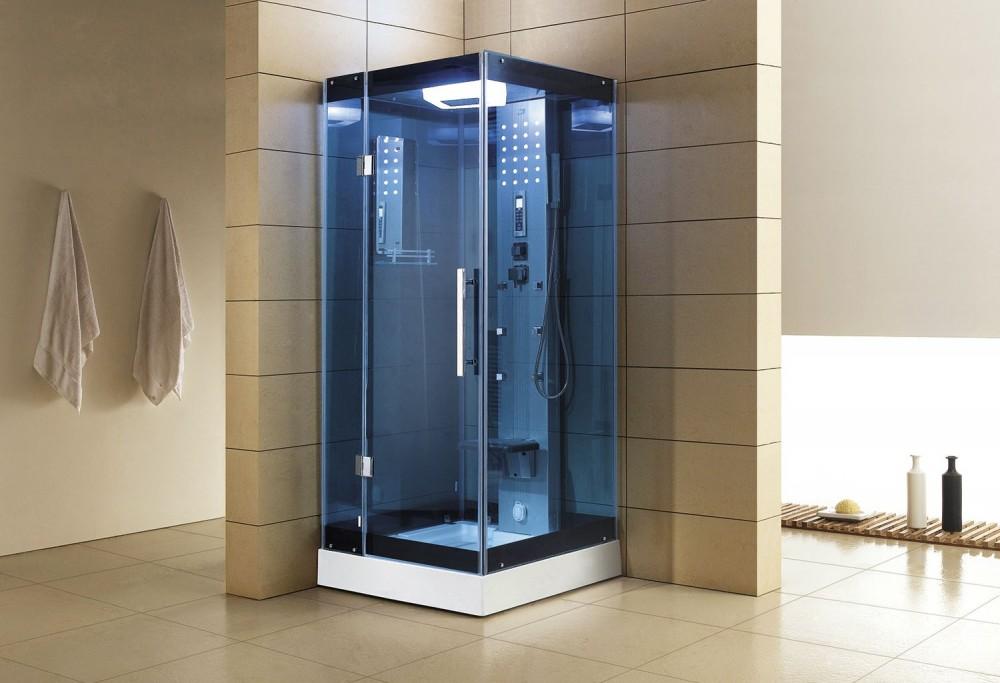 Cabina hidromasaje con sauna as 004b 1 for Cabina sauna