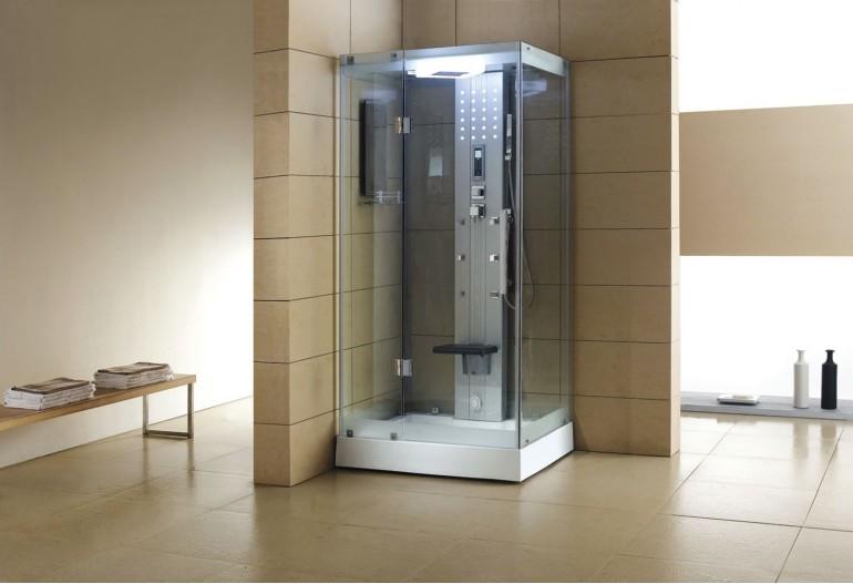 Cabina hidromasaje con sauna AS005A1