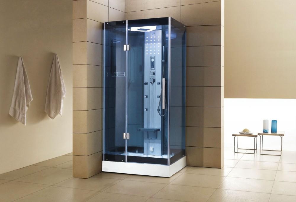 Cabina hidromasaje con sauna as 005b 1 for Cabina de ducha easy