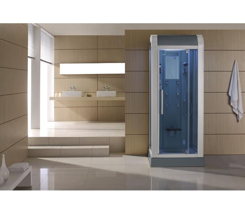 Cabina hidromasaje con sauna as 010a for Cabina sauna