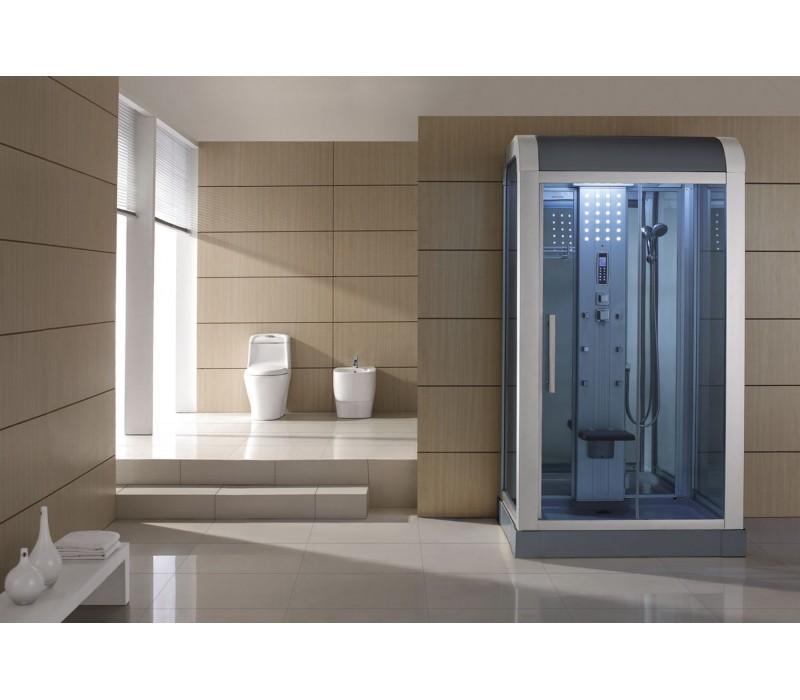 Cabina hidromasaje con sauna as 010b - Cabina ducha sauna ...