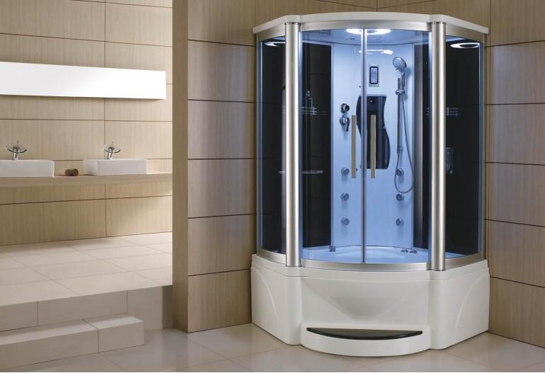 Cabina hidromasaje y ba era con sauna at 011a - Productos para sauna ...