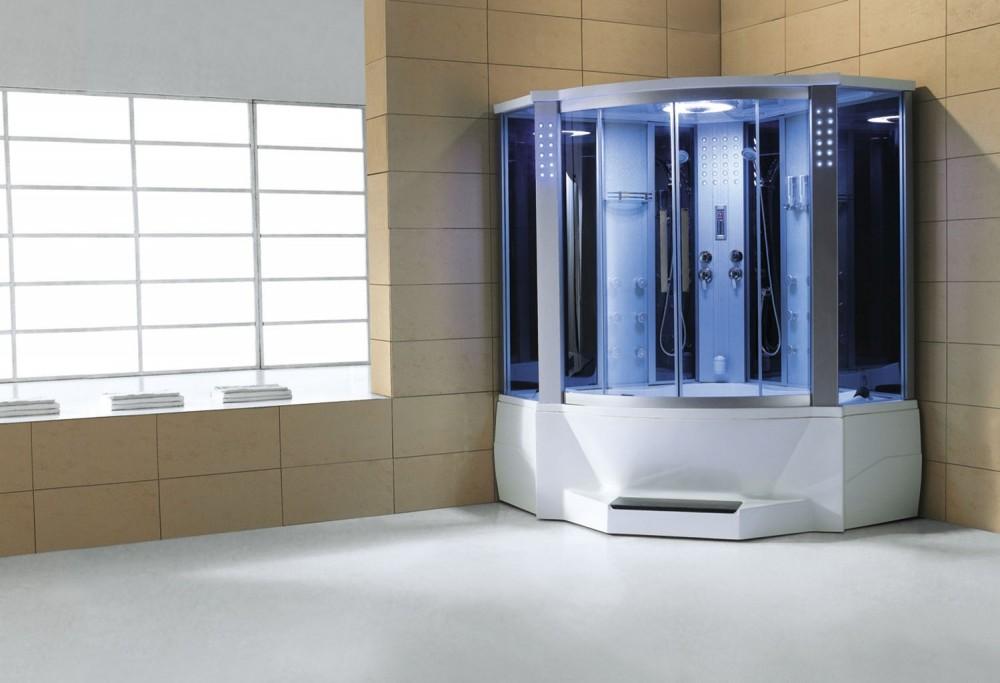 Cabina hidromasaje y ba era con sauna at 012c - Cabinas de ducha con sauna ...