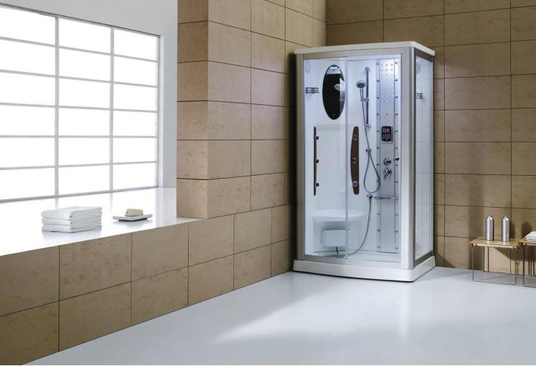 Cabina hidromasaje con sauna as 013 - Productos para sauna ...