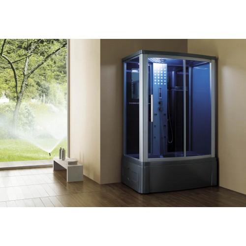 Cabina hidromasaje y bañera con sauna AT-015
