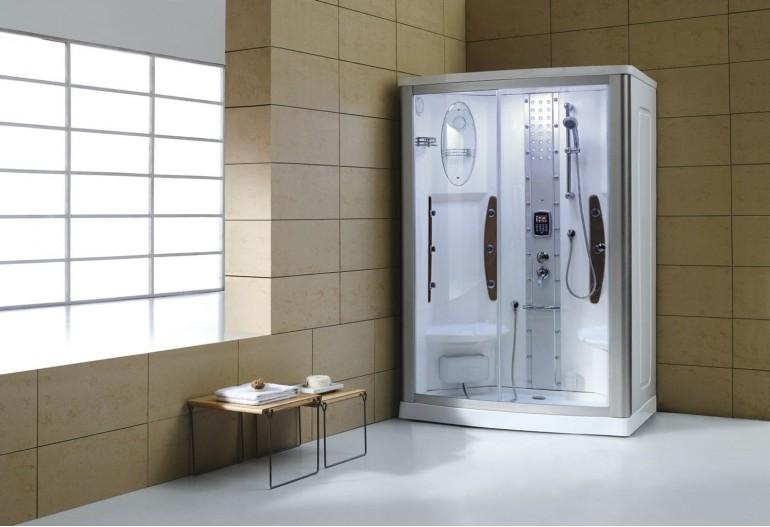 Cabina hidromasaje con sauna as 015 - Cabinas de ducha con sauna ...