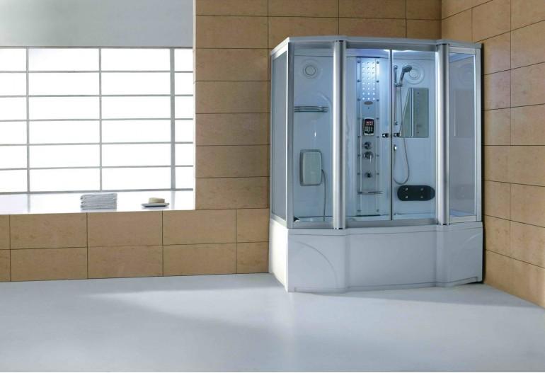 Cabina hidromasaje y ba era con sauna at 016 - Productos para sauna ...