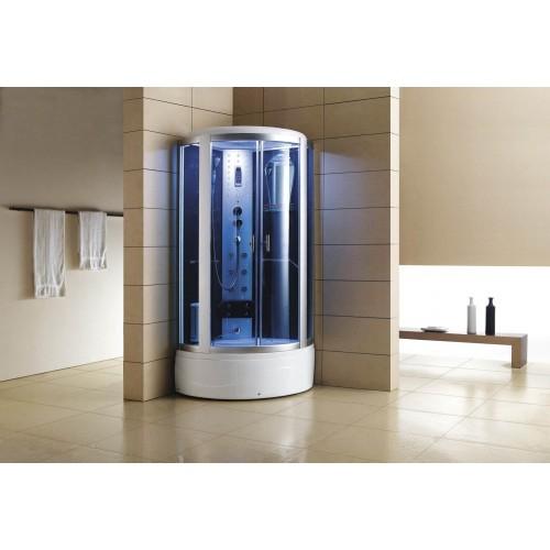 Cabina hidromasaje y bañera con sauna AT-002-1