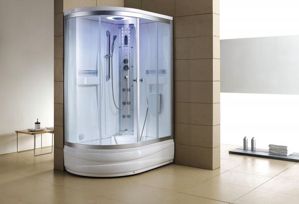 Cabina hidromasaje y baera con sauna AT0041