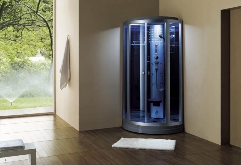Cabina hidromasaje con sauna AS-018
