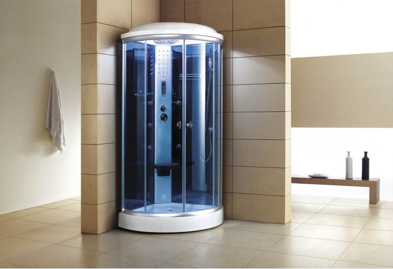 Cabina hidromasaje con sauna as 019 for Cabina sauna