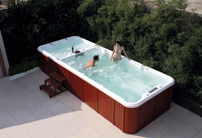 Piscinas hidromasaje y nado contracorriente. Swim spas al mejor ...