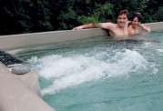 Piscina de hidromasaje swim spa AT-004