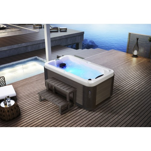 spa jacuzzi hidromasaje de exterior as 0031a. Black Bedroom Furniture Sets. Home Design Ideas