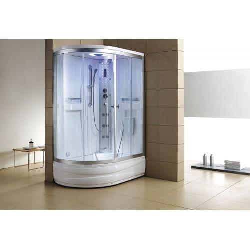 Cabina hidromasaje y bañera con sauna AT-004