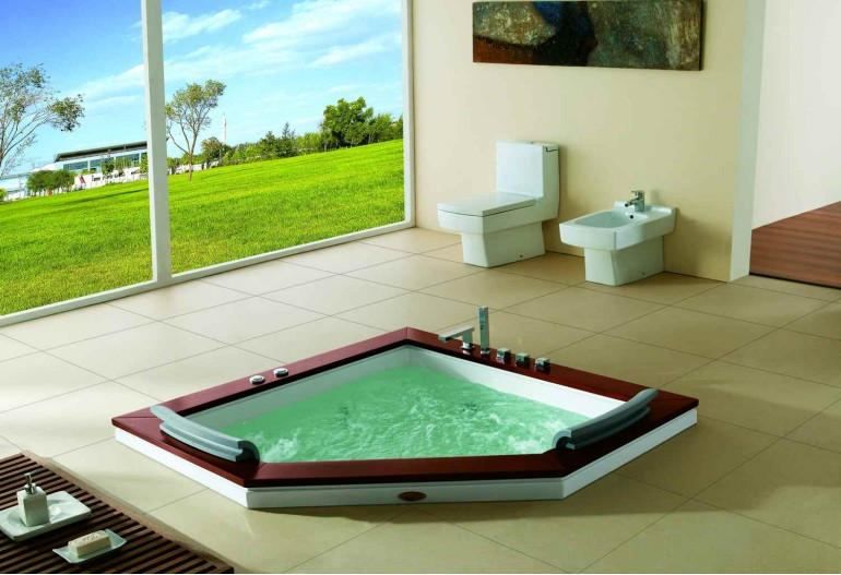 Ba era hidromasaje jacuzzi at 011b 1 for Instalacion de jacuzzi interior
