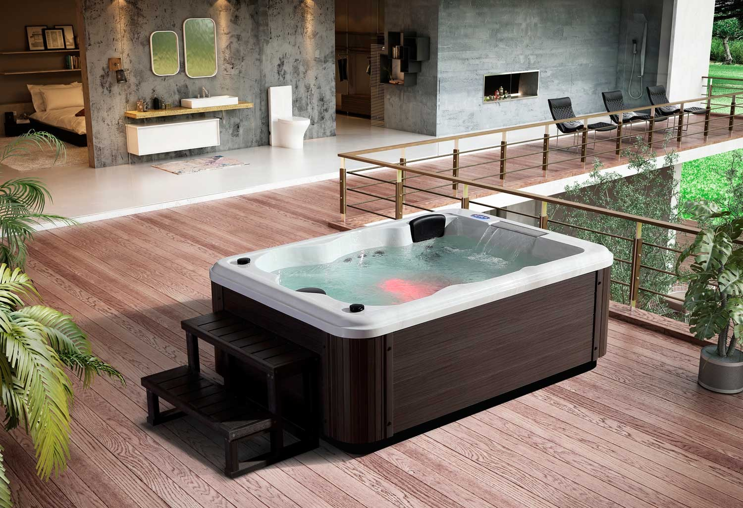 jacuzzi exterior medidas top jacuzzi inflable intex