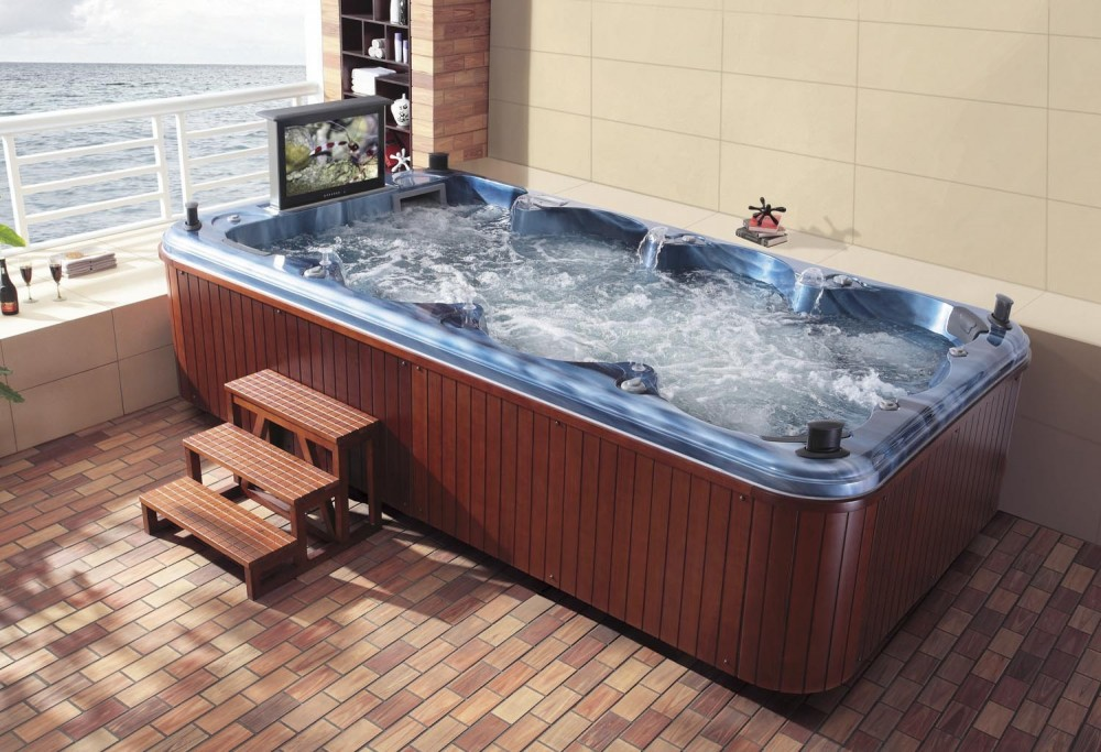 Piscina spa at 002 - Piscina jacuzzi exterior ...