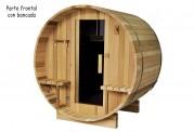 Sauna seca con forma de barril AF-003B
