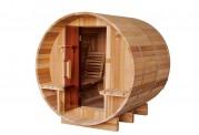 Sauna seca con forma de barril AF-004B