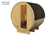 Sauna seca con forma de barril AF-004A