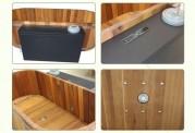 Ofuro japonés / Tina de madera exterior AT-001