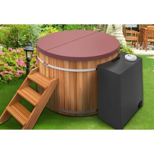 Ofuro japonés / Tina de madera exterior AT-002C