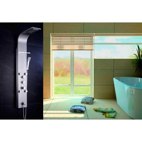 Columna de ducha hidromasaje AT-001C (termostática)